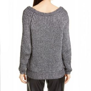 Seventy Gray Silver Chunky Knit Sweater